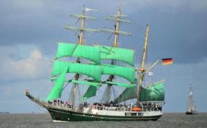 Die Alexander von Humboldt bei der Sail 2010 in Bremerhaven