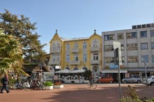 der Marktplatz in Cuxhaven-Duhnen