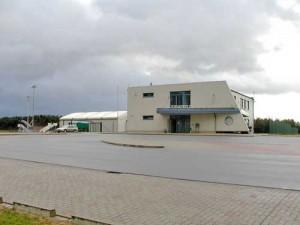 der zivile Flugplatz Nordholz/Cuxhaven