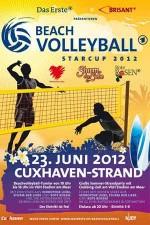 Logo des ARD Beachvolleyball-Starcup 2012 in Cuxhaven