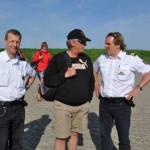 Wasserschutzpolizei am Anleger von Neuwerk