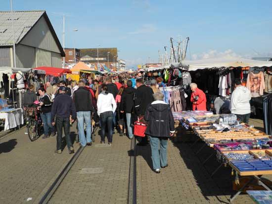 Fischmarkt in Cuxhaven