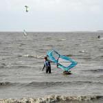 windsurfer startet