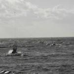 kitesurfer startet