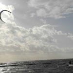 kitesurfer vor der wende
