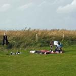 einpacken des kites