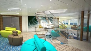 Atrium Auf dem neuen Schiff