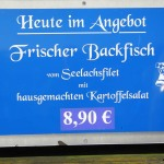 Backfisch Verkauf