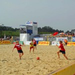 Beachsoccer in Cuxhaven