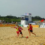 Beachsoccer NFV Tunier in Duhnen