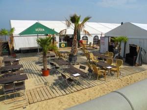 das cafe le Mar in Cuxhaven Duhnen
