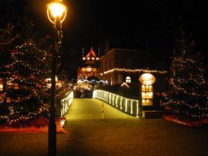 Zugang zum Weihnachtsmarkt in Cuxhaven