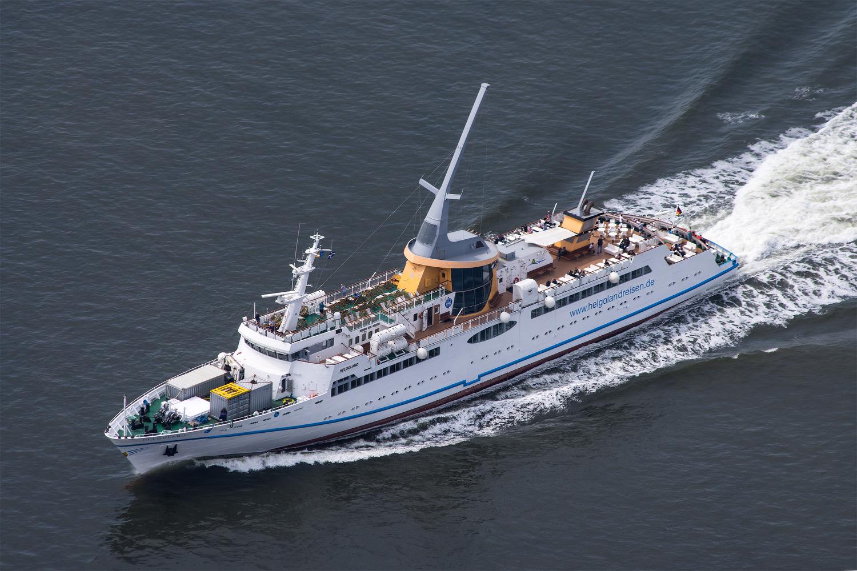 MS Helgoland auf See